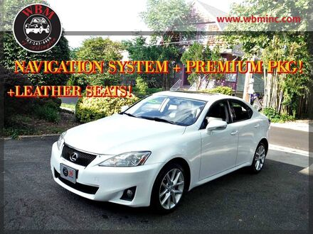 2012_Lexus_IS 250_AWD w/ Premium Package_ Arlington VA