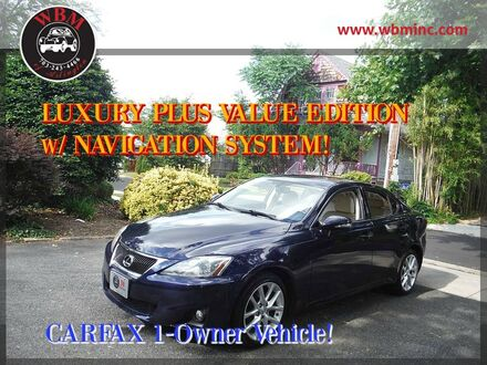 2012_Lexus_IS 250_AWD w/ Premium Package_ Arlington VA