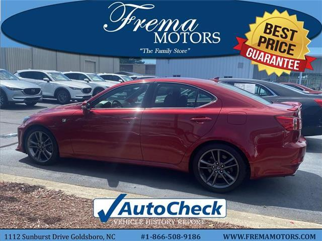 2012 Lexus IS 250 Base Rear-wheel Drive Sedan Goldsboro NC