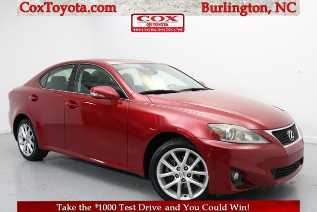 2012 Lexus IS 250 Burlington NC