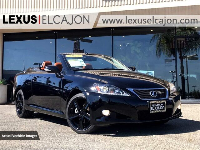 2012 Lexus IS 250 C San Diego County CA