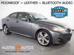 2012_Lexus_IS 250 Sport Sedan_*LEATHER, MOONROOF, STEERING WHEEL CONTROLS, ALLOY WHEELS, KEYLESS ENTRY/LOCK, PUSH BUTTON START/STOP, BLUETOOTH PHONE & AUDIO_ Round Rock TX