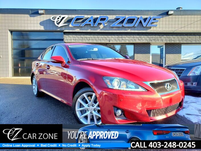 2012 Lexus IS 350 AWD, NAVIGATION, LEATHER Calgary AB