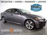 2012 Lexus IS 350 *NAVIGATION, BACKUP-CAMERA, COLOR TOUCH SCREEN, MOONROOF, LEATHER, CLIMATE SEATS, PUSH BUTTON START, BLUETOOTH