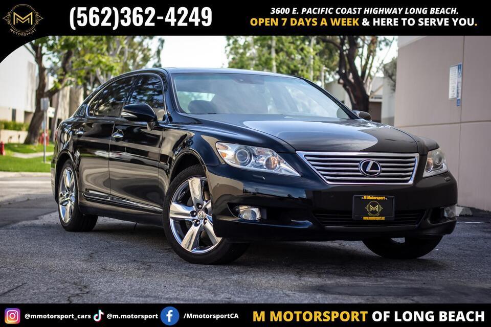 2012_Lexus_LS_LS 460 L Sedan 4D_ Long Beach CA