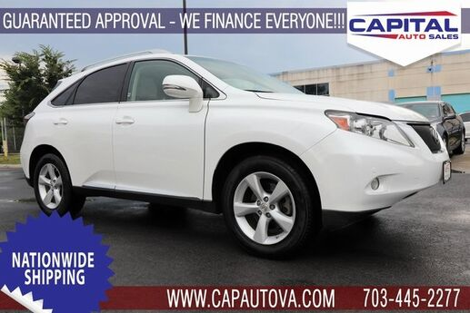 2012 Lexus RX 350 Chantilly VA