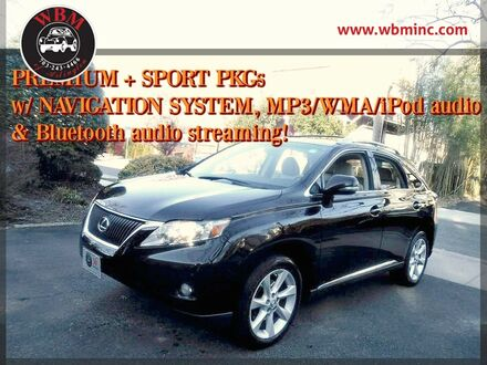2012_Lexus_RX 350_w/ Luxury Package_ Arlington VA