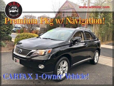 2012_Lexus_RX 450h_AWD w/ Premium Package_ Arlington VA