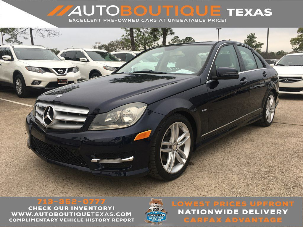 2012 MERCEDES-BENZ C250 C250 Houston TX