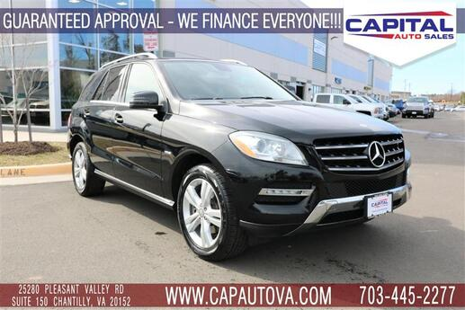 2012 MERCEDES-BENZ M-CLASS ML350 4MATIC Chantilly VA