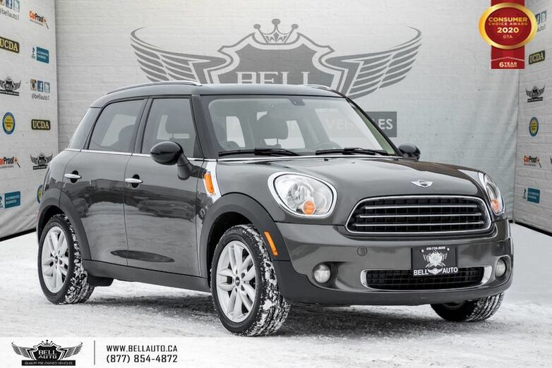 2012 MINI Cooper Countryman NO ACCIDENT, PANO ROOF, LEATHER, BLUETOOTH, HEATED SEAT Toronto ON