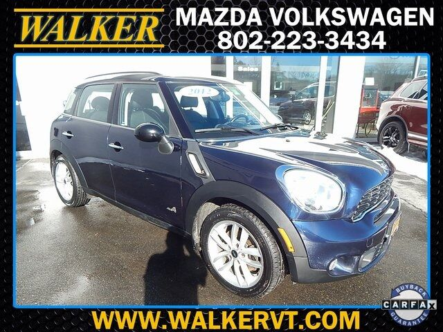 2012 MINI Cooper S Countryman ALL4 Barre VT