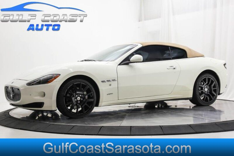 2012_Maserati_GRANTURISMO_CONVERTIBLE LEATHER LOW MILES COLOR COMBO AC_ Sarasota FL