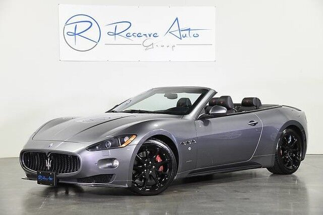 2012 Maserati GranTurismo Convertible Sport We Finance The Colony TX