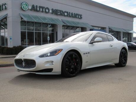 2012 Maserati GranTurismo S Automatic  LEATHER SEATS, NAVIGATION, BOSE PREMIUM STEREO, BLUETOOTH CONNECTIVITY Plano TX