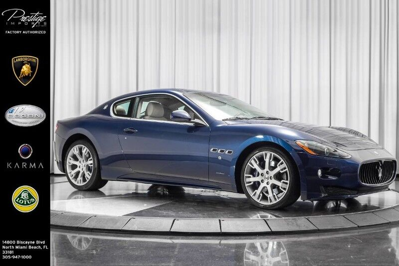 2012_Maserati_GranTurismo_S_ North Miami Beach FL