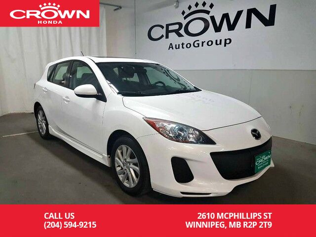 Marvelous 2012 Mazda Mazda3 4dr HB Sport Man GS SKY/HEATED SEATS/SUNROOF/ ...