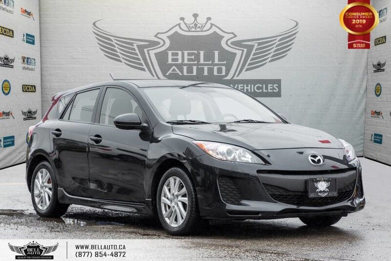 2012 Mazda Mazda3 GS, SUNROOF,BLUETOOTH,ALLOY WHEEL,A/C,HEATED SEATS Toronto ON