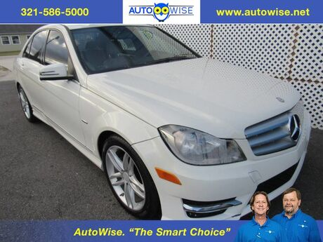 2012 Mercedes-Benz C-250 LUX W/NAVI LUXURY with Navigation Melbourne FL