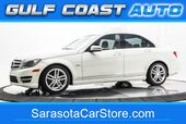 2012 Mercedes-Benz C-CLASS C 250 LUXURY LEATHER SUNROOF LOW MILES FL CAR MANY SERVICE RECORDS !!
