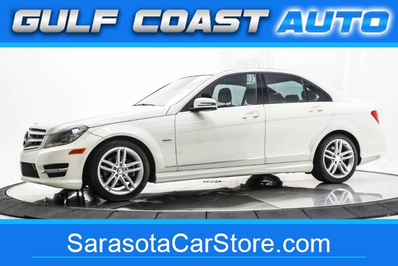 2012_Mercedes-Benz_C-CLASS_C 250 LUXURY LEATHER SUNROOF LOW MILES FL CAR MANY SERVICE RECORDS !!_ Sarasota FL