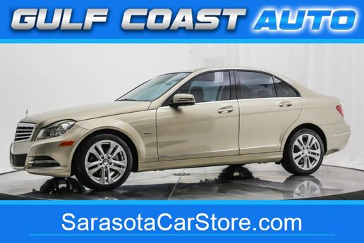 2012 Mercedes-Benz C-CLASS C 250 LUXURY NAVIGATION SUNROOF WARRANTY LOW MILES LIKE NEW !! Sarasota FL