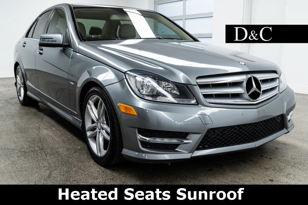 2012 Mercedes-Benz C-Class C 250 Heated Seats Sunroof Portland OR