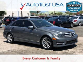 Mercedes-Benz C-Class C 250 Luxury NAV BACKUP CAM SUNROOF LOW MILES AMG STYLIN 2012