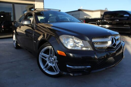 2012 Mercedes-Benz C-Class C 250 NAVIGATION CLEAN CARFAX PREM 1 PKG Houston TX