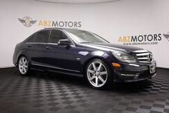 2012_Mercedes-Benz_C-Class_C 250 Sport AMG,Heated Seats,Sunroof,Heated Seats_ Houston TX