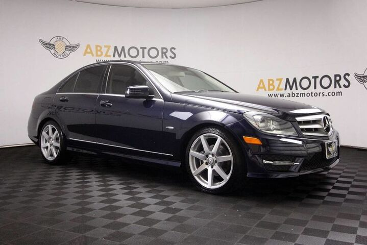 2012 Mercedes Benz C Class C 250 Sport Amg Heated Seats Sunroof Heated Seats