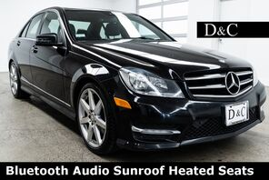 2012_Mercedes-Benz_C-Class_C 300 Bluetooth Audio Sunroof Heated Seats_ Portland OR