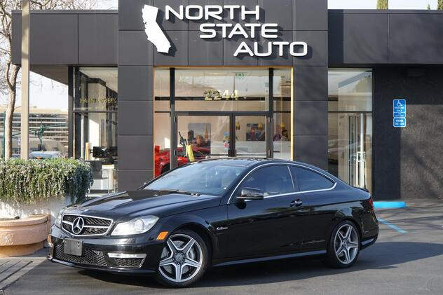 2012_Mercedes-Benz_C-Class_C 63 AMG_ Walnut Creek CA