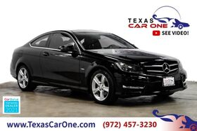 2012_Mercedes-Benz_C250 Coupe_SPORT AUTOMATIC NAVIGATION PANORAMA ATTENTION ASSIST LEATHER SEATS_ Carrollton TX