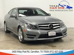 2012_Mercedes-Benz_C250 Coupe_SPORT NAVIGATION PANORAMA ATTENTION ASSIST HARMAN KARDON REAR CAMERA_ Carrollton TX