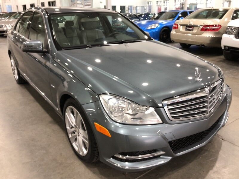 2012_Mercedes-Benz_C250_Luxury_ Charlotte NC