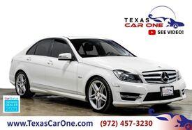 2012_Mercedes-Benz_C250_SPORT NAVIGATION HARMAN KARDON SUNROOF LEATHER HEATED SEATS REAR CAMERA_ Carrollton TX