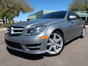 2012_Mercedes-Benz_C250_Sport Coupe_ Scottsdale AZ
