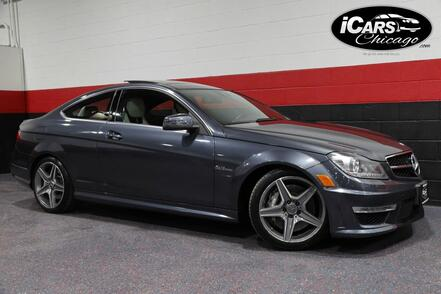 2012_Mercedes-Benz_C63 AMG_2dr Coupe_ Chicago IL