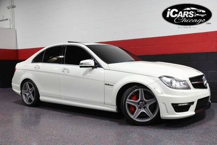 2012_Mercedes-Benz_C63 AMG_4dr Sedan_ Chicago IL