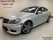 2012_Mercedes-Benz_C63_AMG 6.3 V8 Cpe 29kmi Multimedia Pkg Driver Assist Pano Roof Clean Carfax_ Addison TX