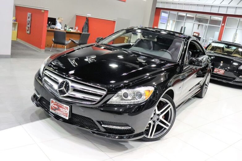 2012 Mercedes-Benz CL-Class CL 550 Premium Package Drivers Assistance Sports Package AMG Springfield NJ