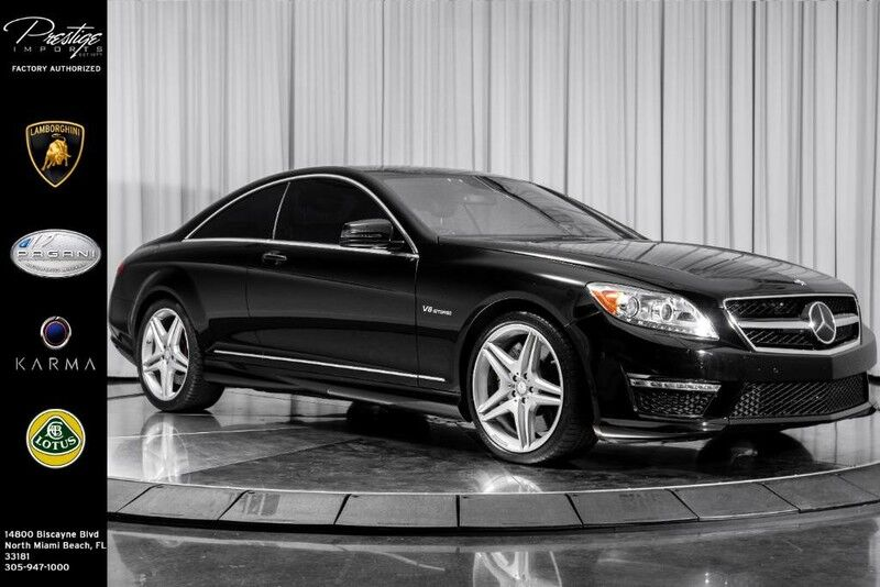 2012_Mercedes-Benz_CL-Class_CL 63 AMG_ North Miami Beach FL