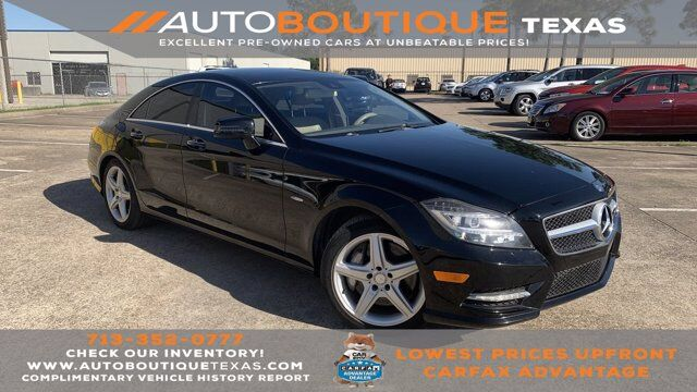 2012 Mercedes-Benz CLS-Class CLS 550 Houston TX