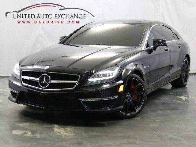 2012 Mercedes-Benz CLS-Class CLS 63 AMG / 5.5L Bi-Turbo V8 Engine / Navigation / Sunroof / Parking Aid with Rear View Camera / Bluetooth Addison IL