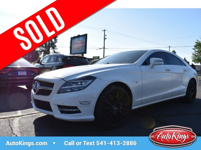2012 Mercedes-Benz CLS550 4MATIC CLS-Class Bend OR