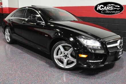 2012_Mercedes-Benz_CLS550_AMG Sport 4-Matic 4dr Sedan_ Chicago IL