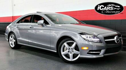 2012_Mercedes-Benz_CLS550 AMG Sport 4Matic_4dr Sedan_ Chicago IL