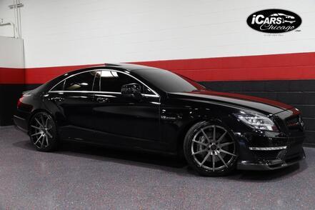 2012_Mercedes-Benz_CLS63 AMG Renntech_4dr Sedan_ Chicago IL