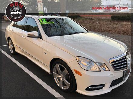 2012_Mercedes-Benz_E 350_4MATIC Sport w/ Premium Pkg_ Arlington VA
